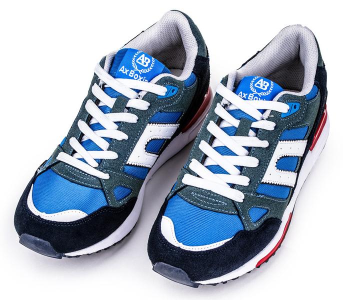 buty lato niebieskie ombre