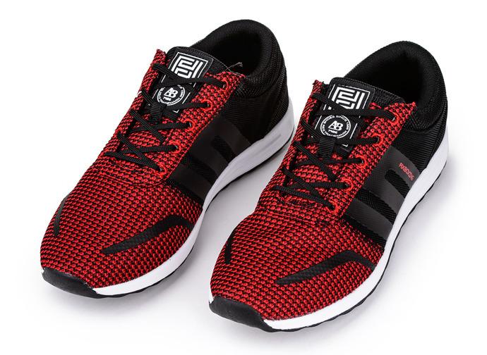 buty lato czerwone