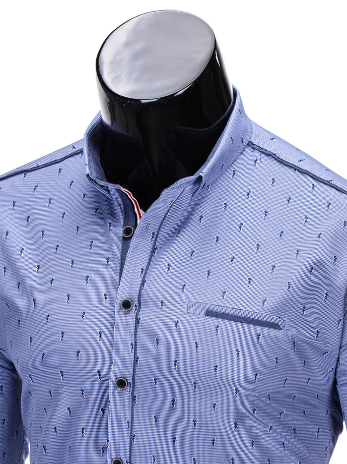 zamiast garnituru koszula ombre