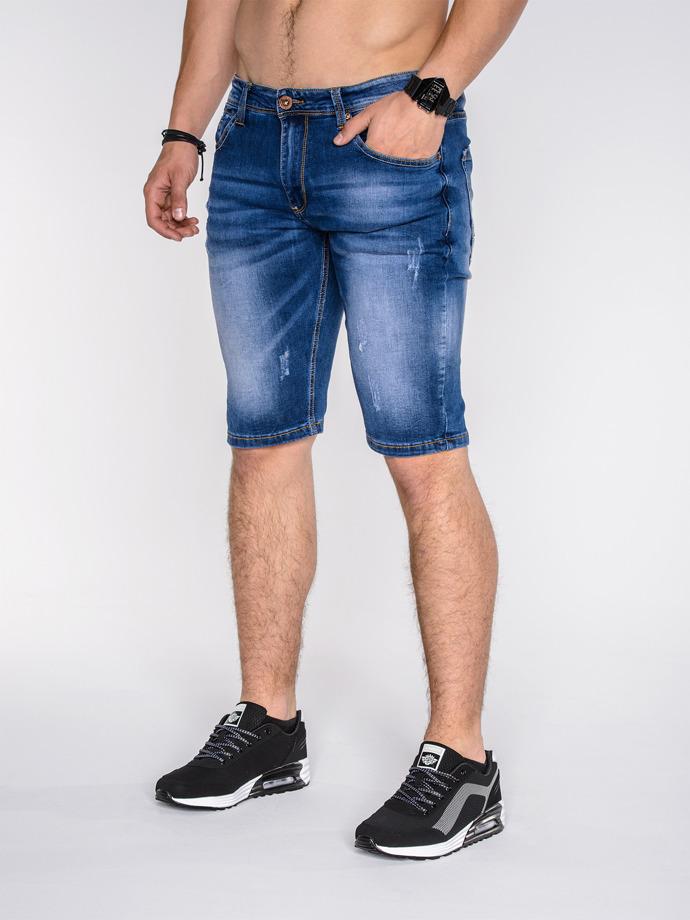 krotkie spodenki ombre jeansowe