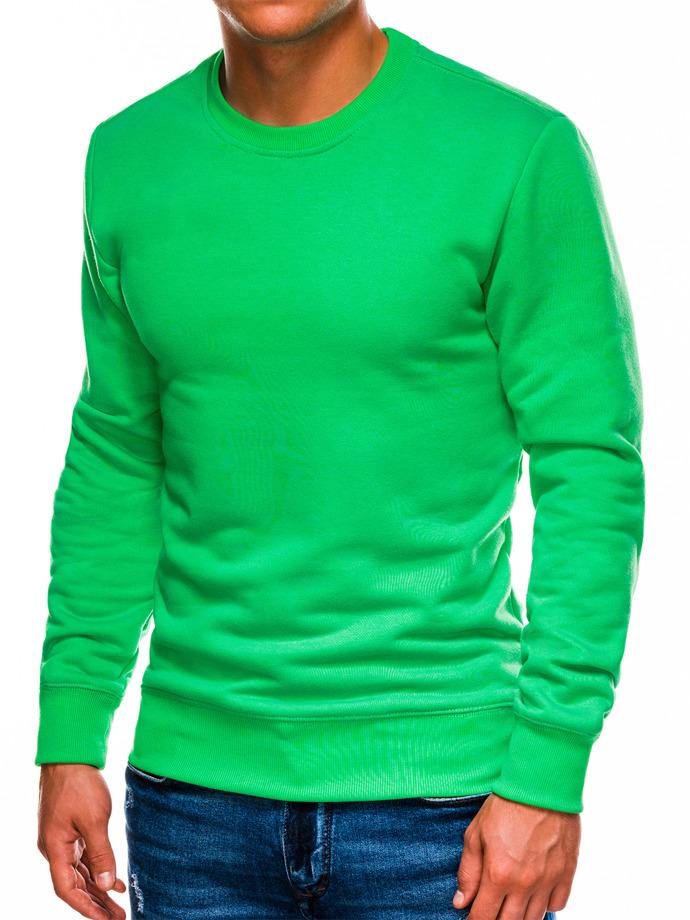 Bluza męska bezkaptura B978 - zielona