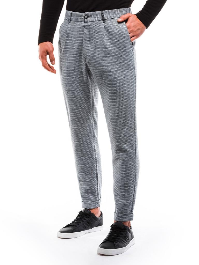 Spodnie męskie chino P869 - szare