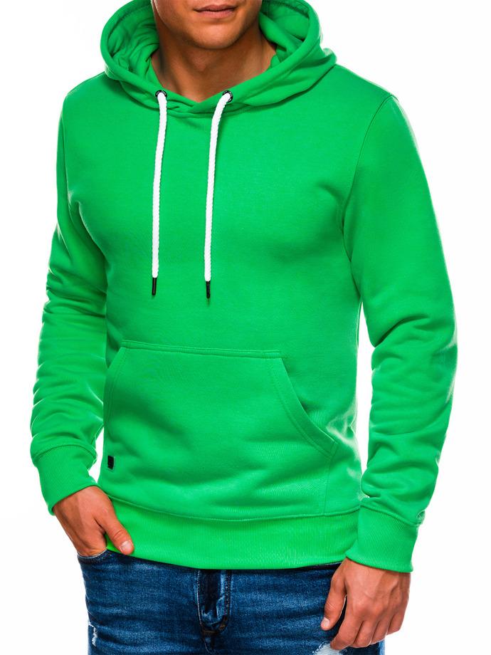 Bluza męska zkapturem B979 - zielona